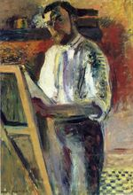 Self-Portrait in Shirtsleeves 1900
