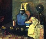 Blue Pitcher 1901