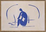 Bather in the Reeds 1952