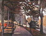 The path in the Bois de Boulogne 1902