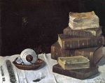 Still Life with Books 1890