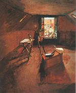 Studio under the Eaves 1903