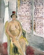 Nude In A Chair 1924