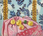 Still Life with Apples on a Pink Tablecloth 1924