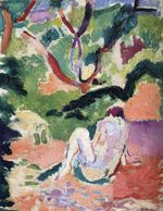 Nude in a Wood 1906