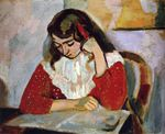 The Reader, Marguerite Matisse 1906