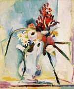 Flowers in a Pitcher 1908