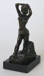 1906 Standing Nude, Arms on Head 26cm