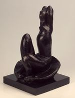 1930 Venus on a Shell 30cm bronze Hermitage Museum, Saint Petersburg, Russia